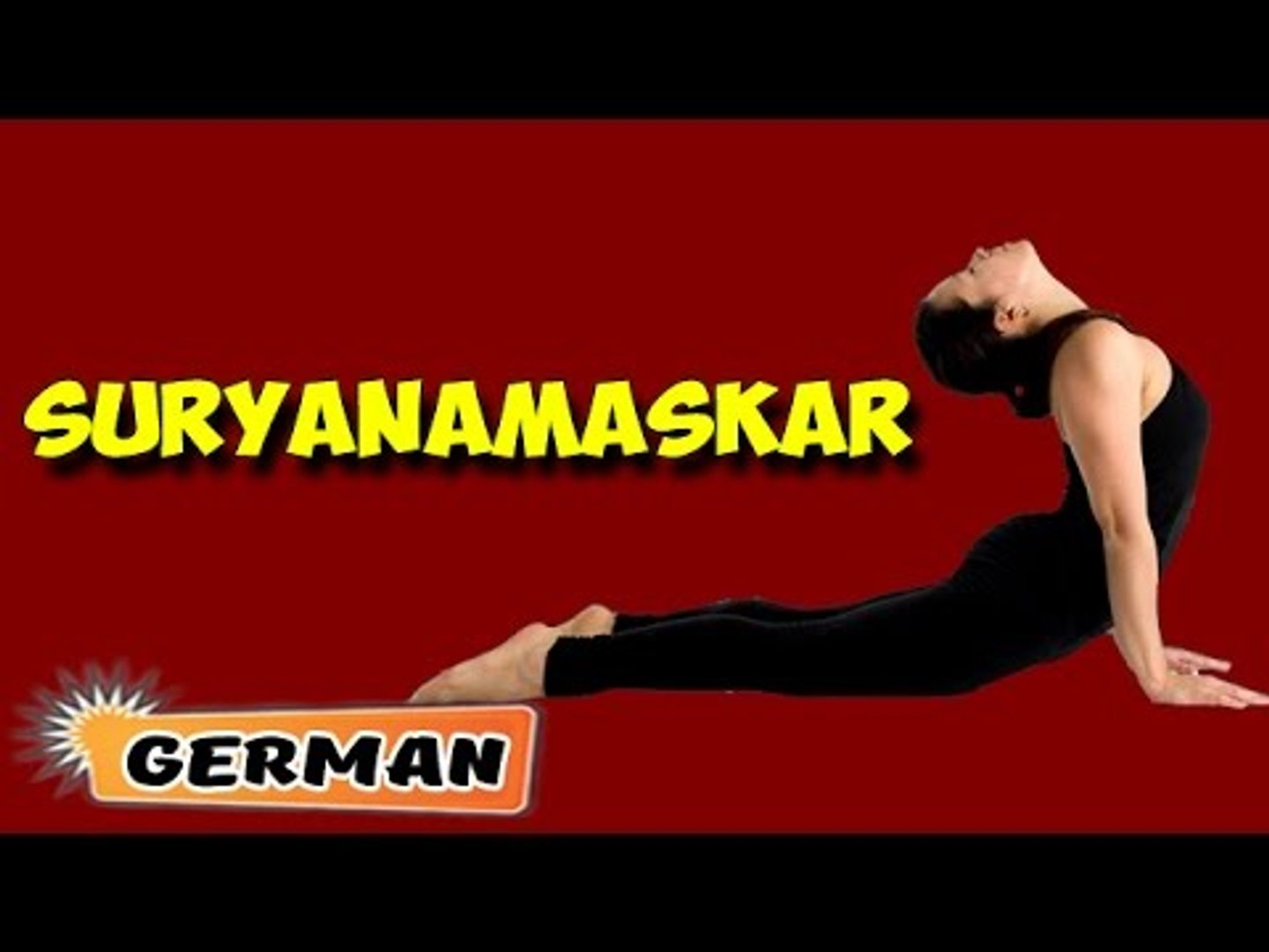 Surya Namaskar | Yoga für Anfänger | Yoga For Beauty & Tips | About Yoga in German