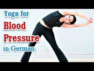 Yoga for Blood Pressure - Hypertension Control, Treatment and Nutritional Management in German