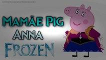 Família Peppa Pig FROZEN Olaf Elsa Anna Hans Kristoff Hans George Papai Daddy Mummy Desenho Pintado  Greatest Videos