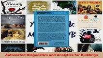 PDF Download  Automated Diagnostics and Analytics for Buildings Download Online