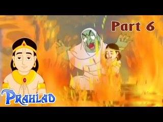 Hiranyakashyapu Trying to Kill His Own Son Prahlad | Bhakt Prahlad Tamil Animated Movie Part 6