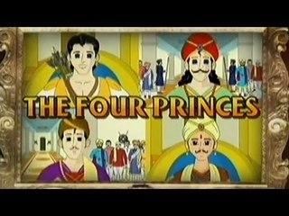 Vikram Betal | The Four Princess | Tamil Stories For Kids