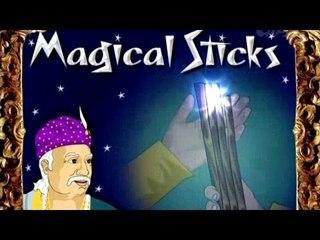 Akbar and Birbal - The Magic Sticks - Tamil Animated Stories For Kids