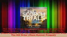 PDF Download  The Maze Runner Series CD Audiobook Bundle The Maze Runner Maze Runner 1 The Scorch PDF Full Ebook