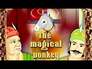 Akbar and Birbal - The Magical Donkey - Tamil Animated Stories For Kids
