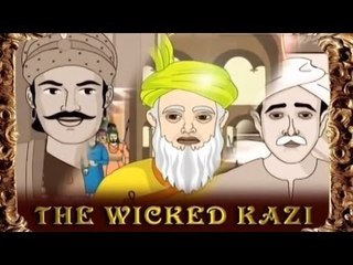 Akbar and Birbal - The Wicked Kazi - Tamil Animated Stories For Kids