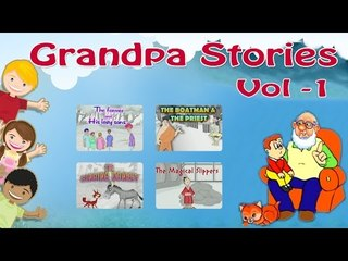 Grandpa Stories || Animated Moral Stories For Kids in English || Vol 1
