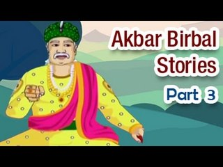 Akbar Birbal Tales in English | Animated Kids Moral Stories - Part 3
