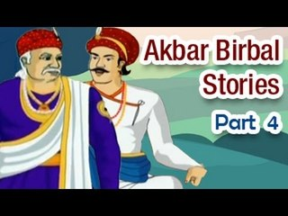 Akbar Birbal Tales in English | Animated Kids Moral Stories - Part 4