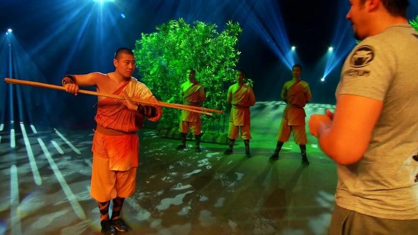 Vincent Parisi initie la chanteuse NESLY au Kung-Fu Shaolin sur beiN Sports.