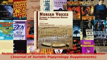 PDF Download  Nubian Voices Studies in Nubian Christian Civilization Journal of Juristic Papyrology Read Full Ebook