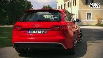 New Audi RS4 Avant on the road (Motorsport)