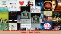 PDF Download  As the Romans Did A Sourcebook in Roman Social History 2nd Edition Download Full Ebook