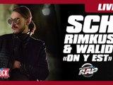 """SCH, Rimkus & Walid """"On y est"""" en live dans Planète Rap !"""