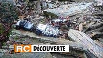 Modélisme à Nantes : Extreme Trail Rc Scale 4x4 Crawler Pentes et Carrière de Roches Ardoise Glissantes et Boue