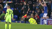 Everton 2 - 1 Manchester City All Goals and Highlights - 06/01/2016 Capital One Cup