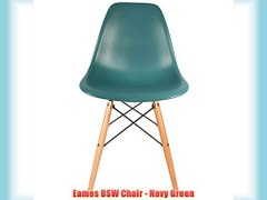 Eames DSW Chair Navy Green