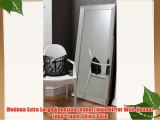 Modena Extra Large Venetian Leaner/wall Mirror With Veneer Edge Frame 30in x 66in