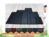 High Quality Deluxe Extra Large (100 X 150 cm) Charcoal Ribbed Doormats. Machine Washable Entrance