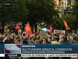 Argentinos se movilizan contra decretos de Macri