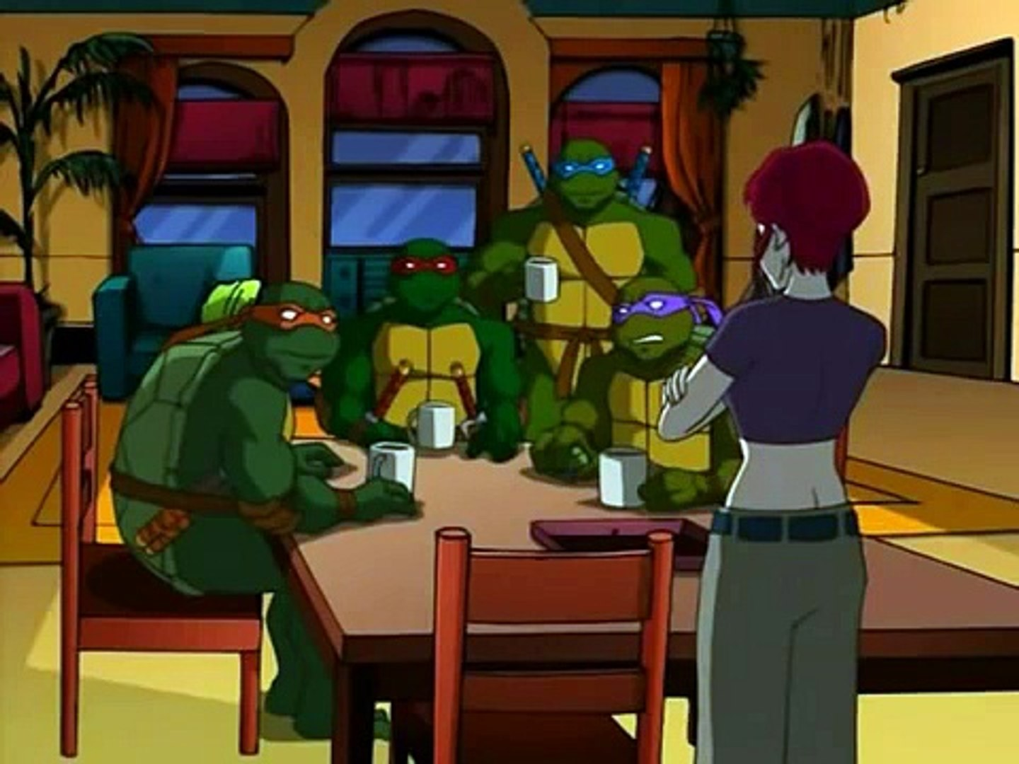 Tmnt S03e13 The Lesson Widescreen Dailymotion Video
