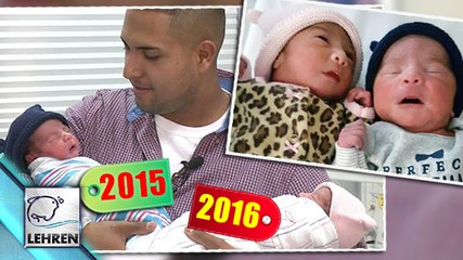 WOW!! Twins Born In Different Years