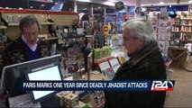 01/06: Paris marks one year since deadly jihadist attacks