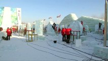 Weird and wonderful ice sculptures at Harbin festival
