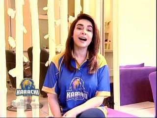 Maira Khan - Kyun Ke Hum Hain Karachi Kings Dilon Ke Badshah