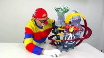 Dima der lustige Clown! Unsere neue Autorennbahn - für Kinder