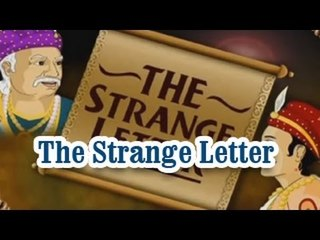 Akbar And Birbal | The Strange Letter | English Animated Stories For Kids