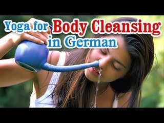 Yoga for Body Cleansing - Body Detoxification, Improve Digestion and Diet Tips in German