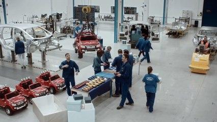 Ford ha fabricado coches de juguete para niños