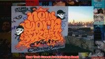 New York Street Art Coloring Book
