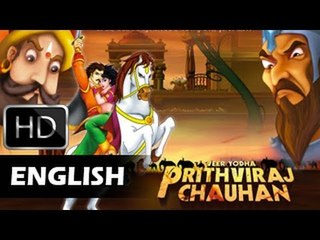 Prithviraj Chauhan Full Movie | English Animated Movie For Kids