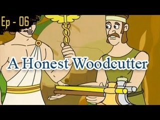A Honest woodcutter | The Grandpa's Stories English