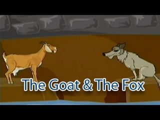 The Goat & The Fox | The Grandpa's Stories English