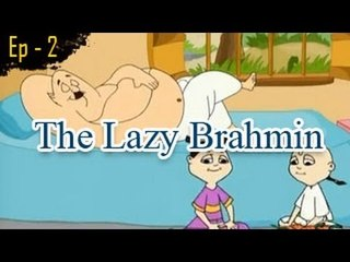 The Lazy Brahmin | The Grandpa's Stories English