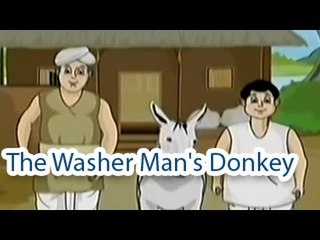 The Washer Man's Donkey | The Grandpa's Stories English