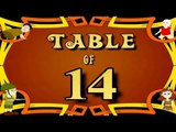 Learn 14x Table | Learn FOURTEEN Multiplication Tables For Kids | Fun And Learn Videos