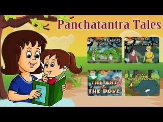 Panchatantra Tales - Animated Cartoon Stories For Kids - Vol 1