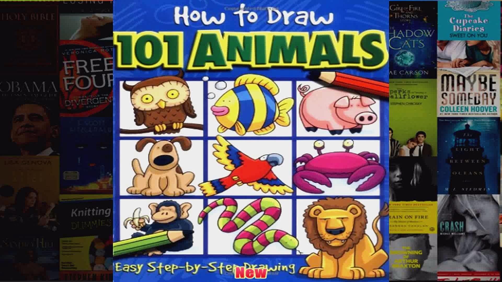 How to Draw 101 Animals How to Draw 101