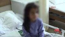 Üvey annesinden şiddet gören çocuk tedavi altında