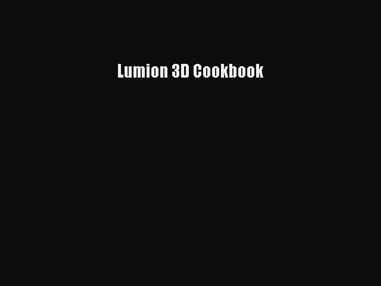Lumion 3D Cookbook Download Lumion 3D Cookbook# Ebook Free