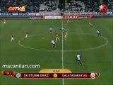 16.12.2009 - 2009-2010 European League Group F Matchday 6 SK Sturm Graz 1-0 Galatasaray