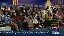 Reham Khan with Imran Khan Dummy in Khabar Naak Promo