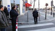 Barbès, quartier bouclé après l'attaque du commissariat du 18e