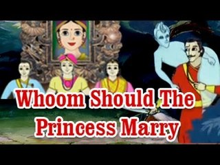 Vikram Betal - Whoom Should The Princess Marry - English Stories For Kids
