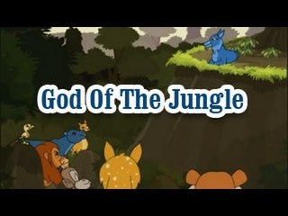 Panchatantra Tales | God Of The Jungle | English Animated Stories For Kids