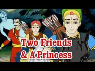 Vikram Betal - Two Friends and A Princess - English Stories For Kids